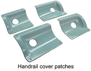 Handrail covers
