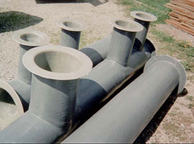 GRP Fibreglass Pipes